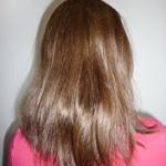 Włosy po zastosowaniu odżywki John Masters