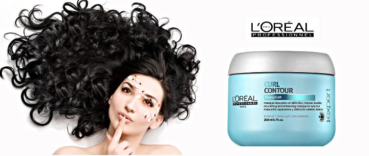 maska do włosów kręconych Loreal