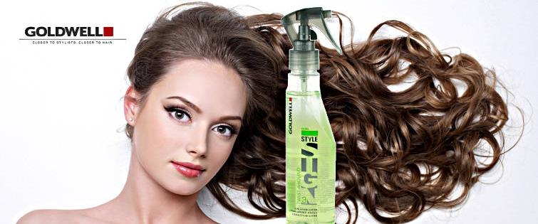 Beautiful long hair of woman