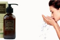 Złuszczający żel do mycia twarzy z jojobą i żeń-szeniem John Masters Organics