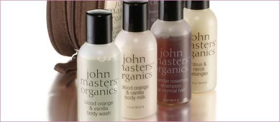 zestaw podróżny John Masters Organic