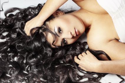 loki po zastosowaniu pasty do włosów