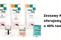Bądź piękna na wiosnę: zestawy Nail Tek 40% taniej!