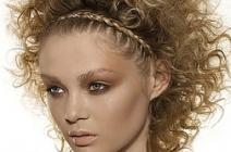 Proste fryzury z elementami warkoczy