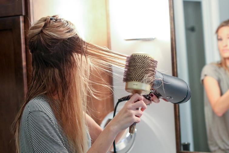 wypadanie włosów wrzesień