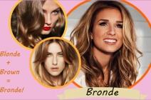 Jesienne fryzury Ombre Hair