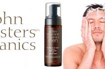 John Masters Organics Men Face Wash & Shave Foam pianka do mycia twarzy i golenia