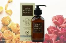 John Masters Organics Rose Foaming Face Wash różany żel do mycia twarzy