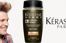 Kérastase Homme Capital Force – zagęszczający szampon dla mężczyzn