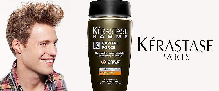 zagęszczający szampon dla mężczyzn