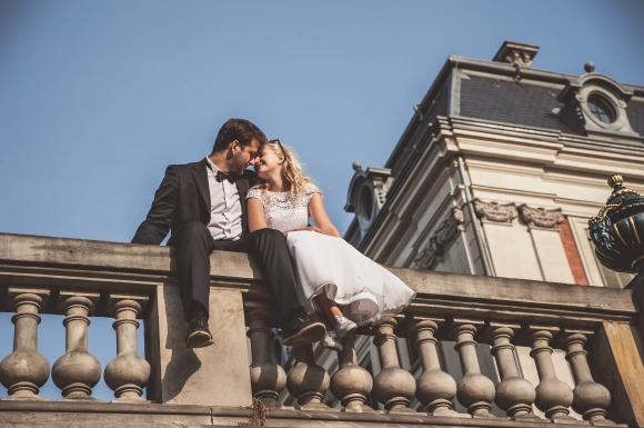 zdjęcia plenerowe ślub