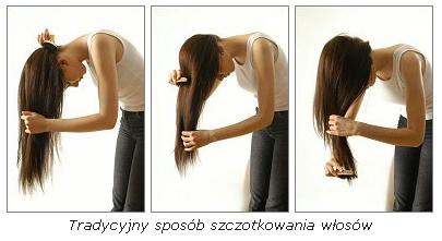 Jak szczotkować włosy porady