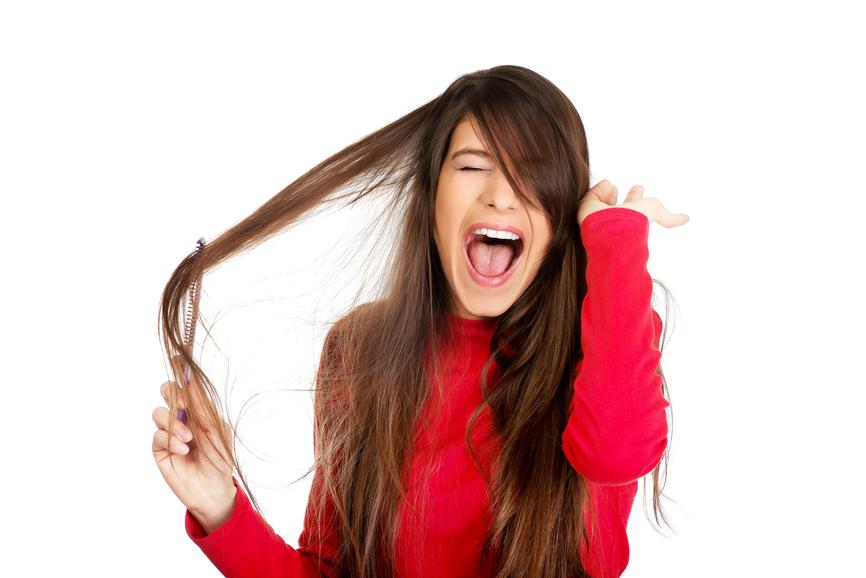 jak szczotkować włosy?