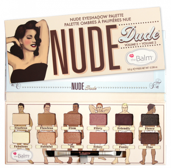 TheBalm Nude Dude paletka cieni