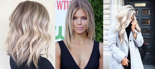 Włosy blond - chłodny odcień