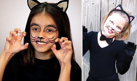 Makijaz na halloween dla dzieci