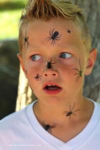 Makijaż na halloween dla dzieci