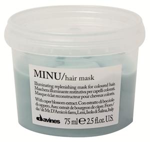 Davines Minu maska do włosów farbowanych