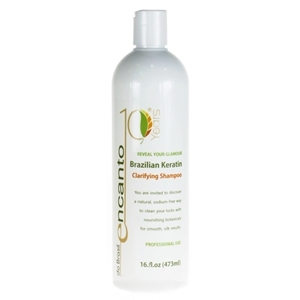 Encanto szampon do włosów przed zabiegiem keratynowego prostowania włosów