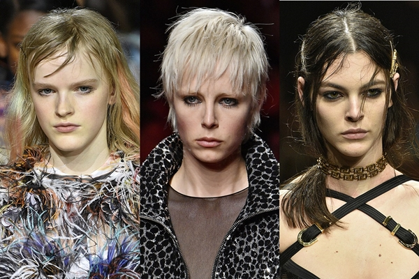 włosy trendy 2019 - punk