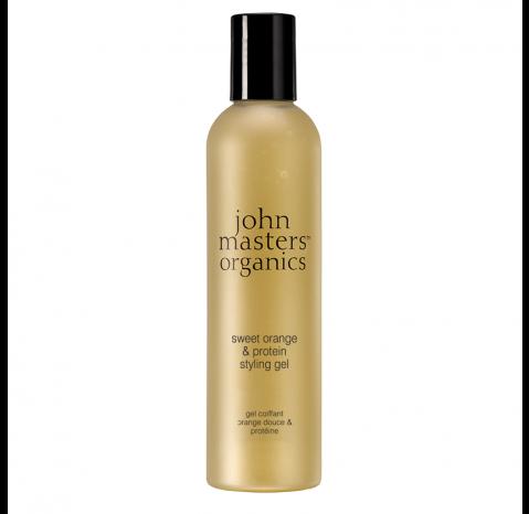 John Masters Organics Sweet Orange & Silk | Słodka pomarańcza i jedwab żel stylizujący 237ml