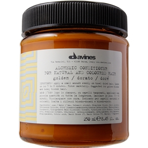 Davines Alchemic Golden Odżywka koloryzująca do włosów o kolorze złocisty blond
