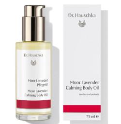 Dr. Hauschka Moor Lavender | Kojący olejek do ciała - borowina i lawenda 75ml
