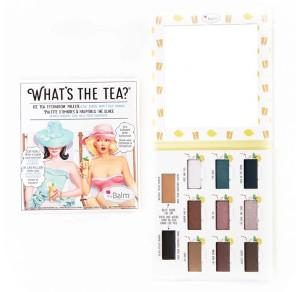TheBalm What's the Tea? Ice Tea | Paleta cieni do powiek - chłodne odcienie