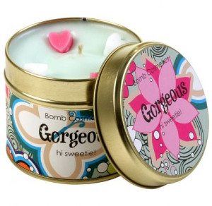 Bomb Cosmetics Gorgeous | Świeca zapachowa w puszce