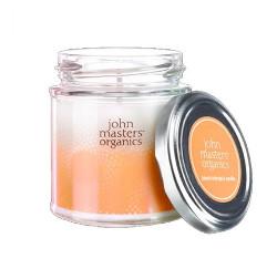 John Masters Organics Blood Orange and Vanilla | Świeca o zapachu czerwonej pomarańczy i wanilii 140ml