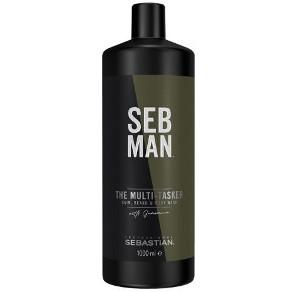 Seb Man The Multi-Tasker   Szampon 3 w 1 do włosów, zarostu i ciała 1000ml
