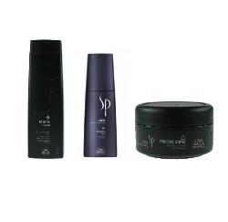 Wella SP Men Remove   Zestaw przeciwłupieżowy: szampon 250ml + spray przeciwłupieżowy 125ml + pasta do włosów 75ml