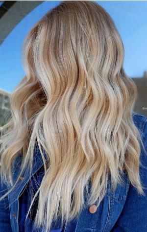 buttery blonde