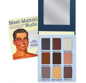 TheBalm Meet Matt(e) Nude | Paleta cieni do powiek 25,5g