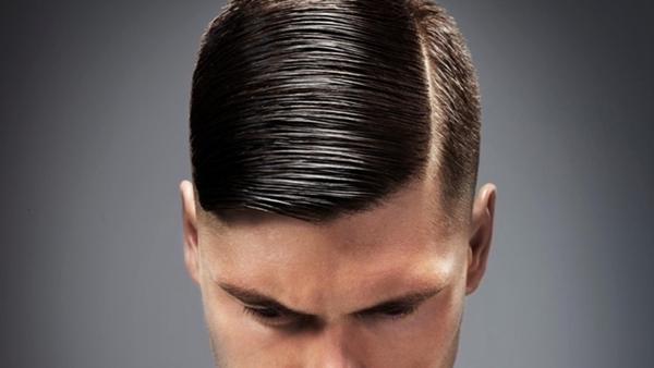 side Part - klasyczna fryzura męska