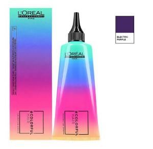 Loreal Colorfulhair Electric Purple   Półtrwała farba bez amoniaku - fioletowa 90ml