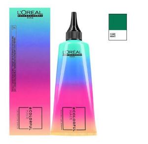 Loreal Colorfulhair Iced Mint   Półtrwała farba bez amoniaku - zielona 90ml
