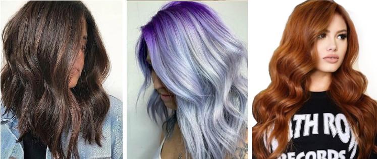 modne kolory włosów 2020
