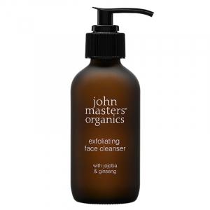 John Masters Organics - Peeling do twarzy z jojobą i żeń-szeniem 107ml