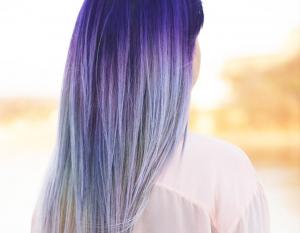 Tymczasowa koloryzacja włosów na lato