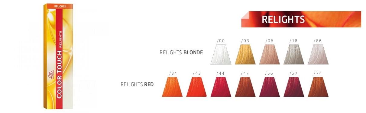 Wella Color Touch Relights - koloryzacja ton w ton
