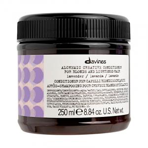 Davines Alchemic Lavender - Odżywka koloryzująca do włosów lawenda
