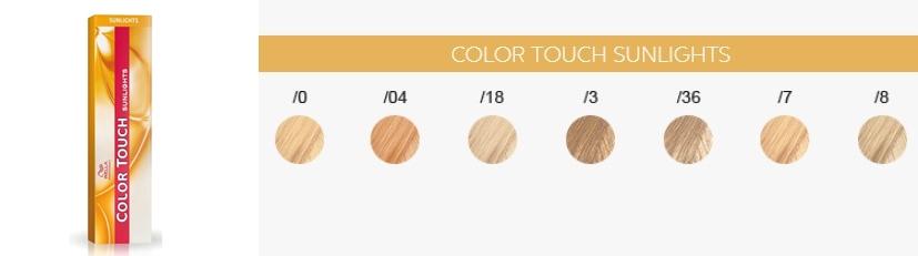 Wella Color Touch Sunlights - koloryzacja ton w ton