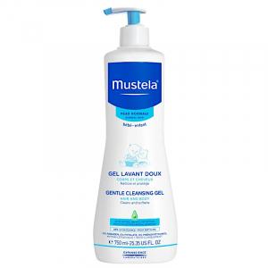 Mustela - Delikatny żel mycia ciała i włosów dla dzieci 750ml