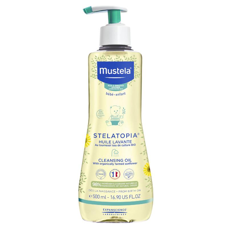 Mustela - Olejek myjący dla niemowlaków i dzieci 500ml