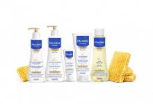 Kosmetyki dla noworodka - marka Mustela skóra sucha