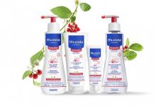 Kosmetyki dla noworodka - marka Mustela skóra wrażliwa