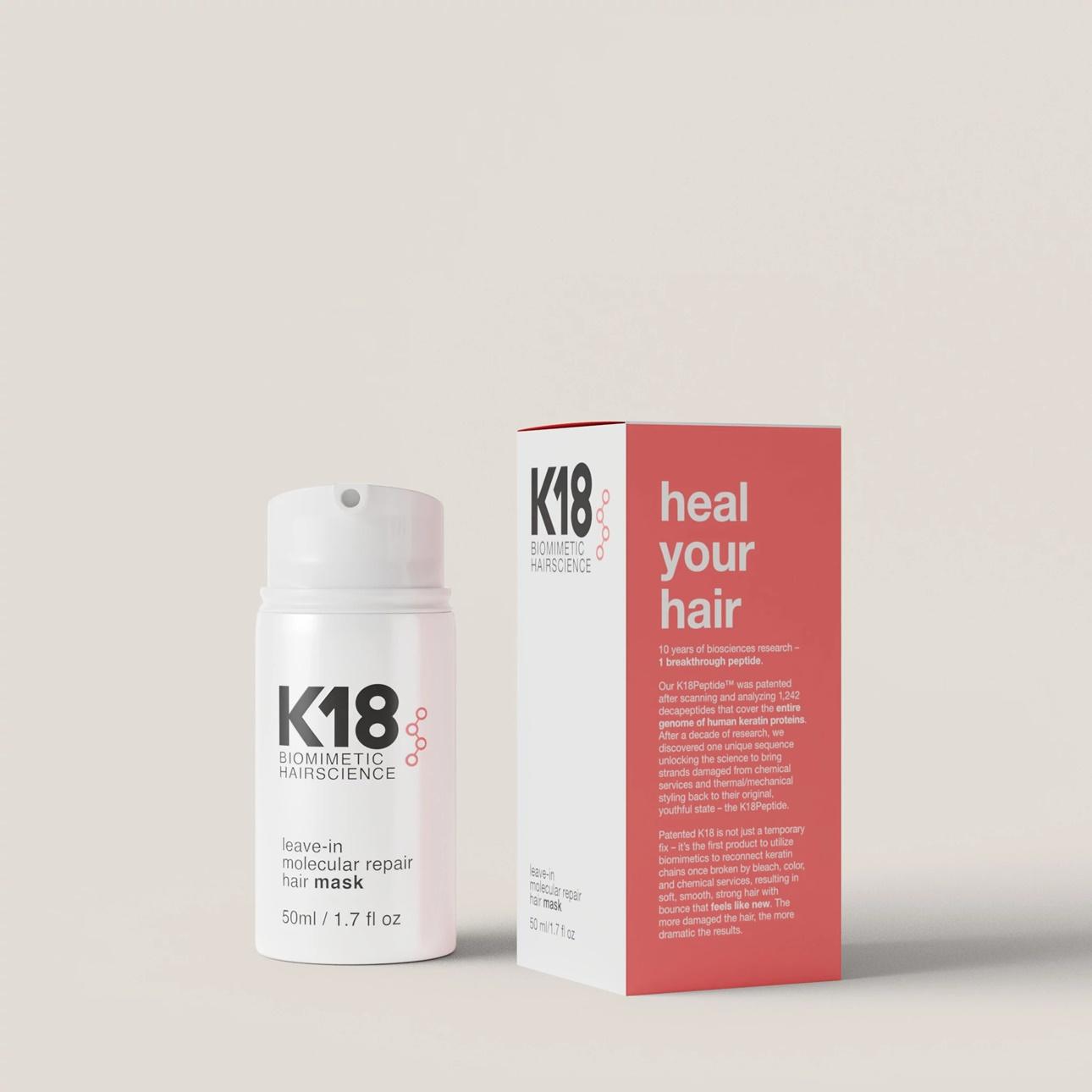 K18 Hair - wegańska maska regenerująca włosy