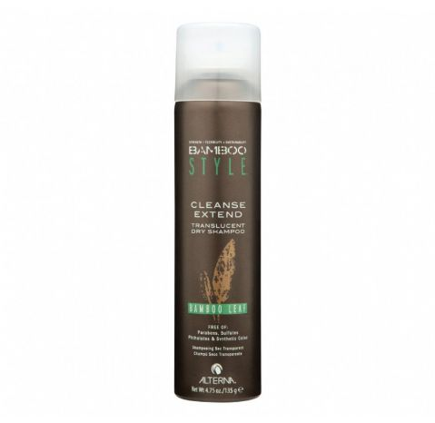 Bamboo Style Cleanse Extend Bamboo Leaf Dry Shampoo | Suchy szampon - 135g